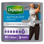 Depend Underwear for Men Male Medium