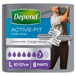 Depend Underwear for Men Male Large