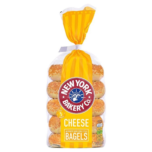 New York Bagel Co. Cheese Bagels