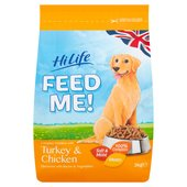 HiLife Feed Me! Turkey & Chicken Dry Dog Food