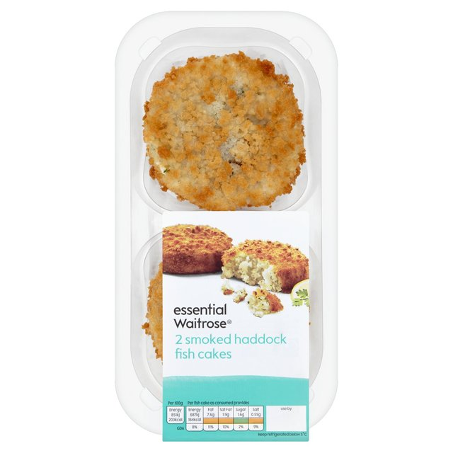2 Smoked Haddock Fishcakes essential Waitrose