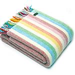 Tweedmill Lifestyle Rainbow Stripe Throw