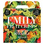 Emily Fruit Crisps Crunchy Pineapple 15g x