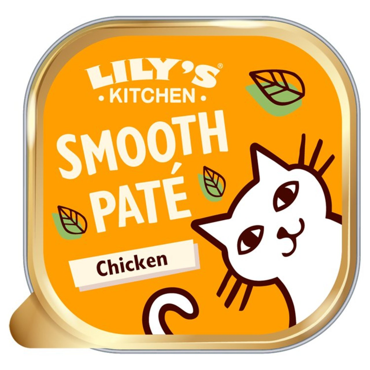 An image of Lily's Kitchen Whisker Lickin' Chicken for Cats