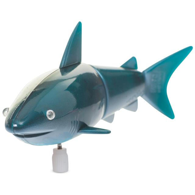 Shark Toys And Games : Wind up shark bath toy yrs from ocado