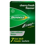 Berocca Boost Energy Vitamin Fast Melt Powder Sachets