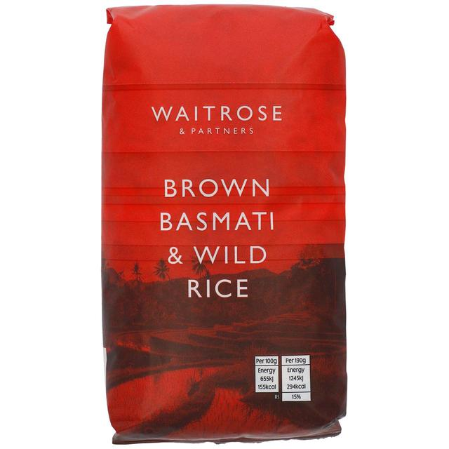 Waitrose Love Life Wholesome Brown Basmati & Wild Rice