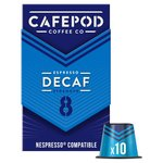CafePod Decaf Nespresso Compatible Capsules