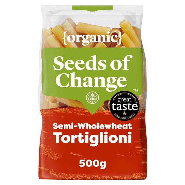 Seeds Of Change Tortiglioni Pasta