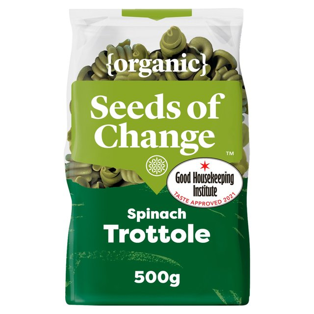 Seeds Of Change Spinach Trottole Pasta