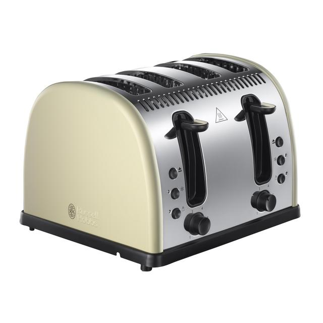 russell hobbs 4 slice legacy toaster cream from ocado. Black Bedroom Furniture Sets. Home Design Ideas