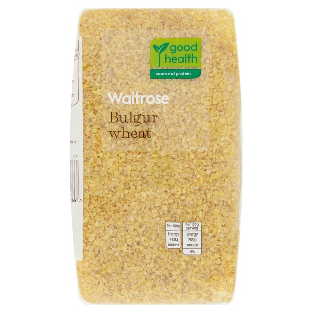 Bulgar Wheat Waitrose Love Life