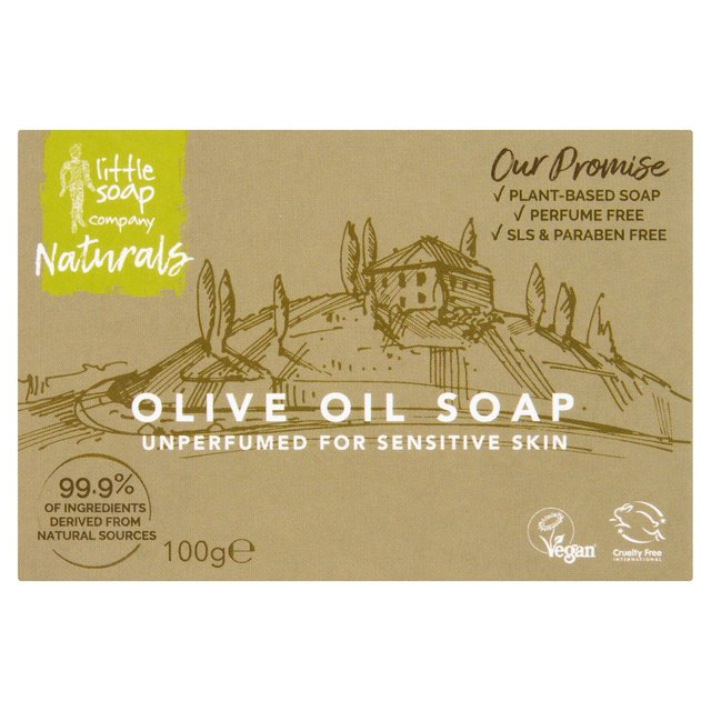 Little Soap Co Olive Oil Bar Soap