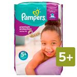 Pampers Premium Protection Active Fit Nappies Size 5+ Monthly Saving Pack
