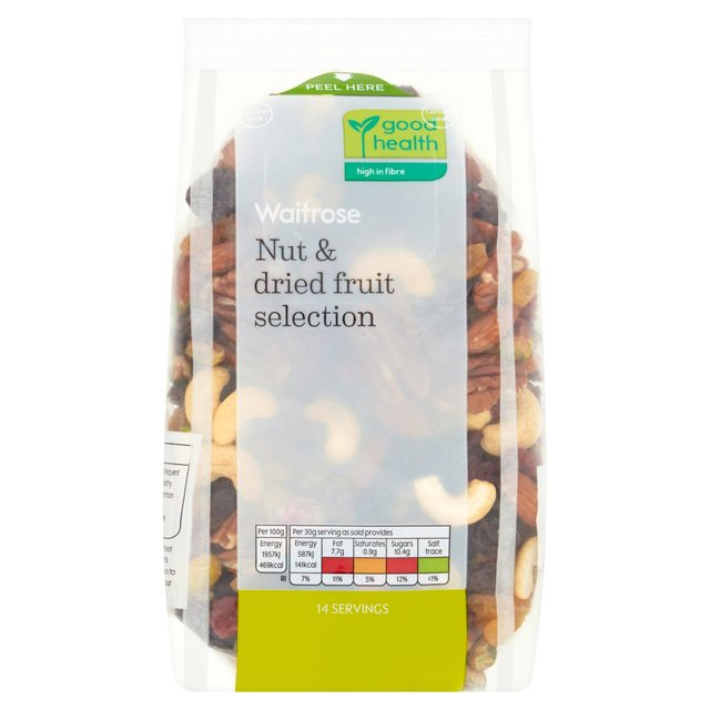 Nut & Dried Fruit Selection Waitrose Love Life
