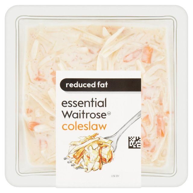 Essential Waitrose Half Fat Creamy Coleslaw