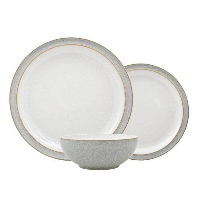 Denby Elements Light Grey 12 Piece Tableware Set  sc 1 st  Ocado & Denby Elements Light Grey 12 Piece Tableware Set from Ocado