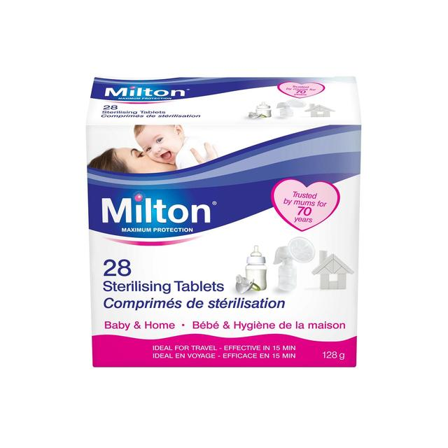 Milton Sterilising Tablets 28 Per Pack From Ocado