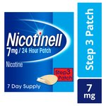 Nicotinell 7mg 24 Hour Patch, Step 3