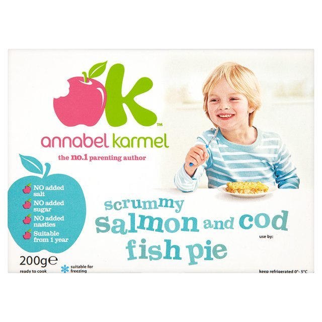 Annabel Karmel Eat Fussy Salmon & Cod Fish Pie