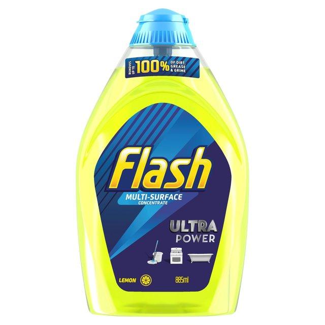Flash Liquid Gel Cleaner Lemon 885ml From Ocado