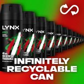 Lynx Africa Body Spray Deodorant Aerosol