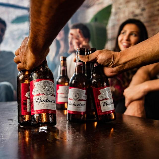 Budweiser beer bottles 10 x 300ml from ocado - Budweiser beer pictures ...