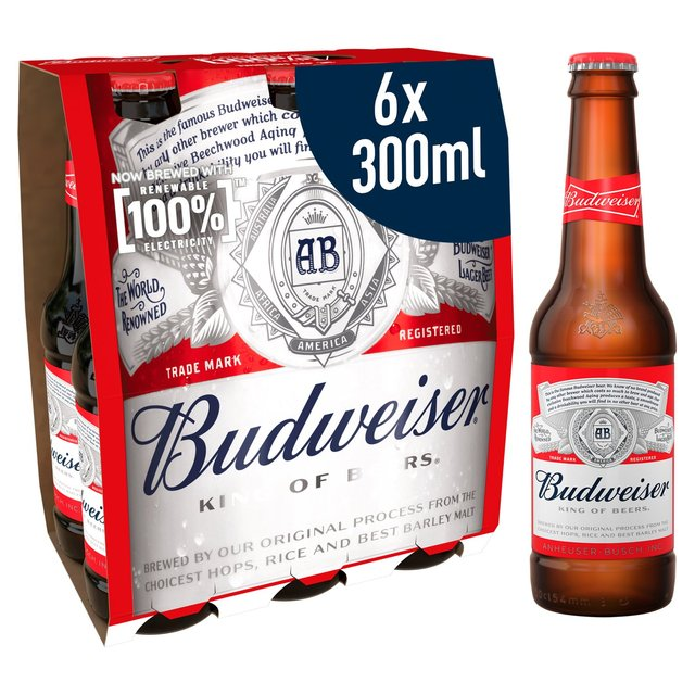 Budweiser Beer   Ocado
