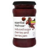 Reduced Sugar High Fruit Berries & Cherries Jam Waitrose