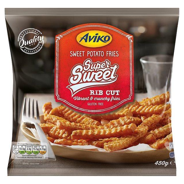Aviko Sweet Potato Fries Rib Cut | Ocado