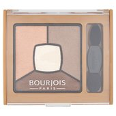 Bourjois Quad Smoky Stories Eyeshadow Palette Upside Brown