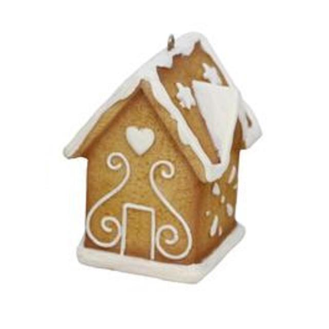gisela graham gingerbread house christmas tree decoration