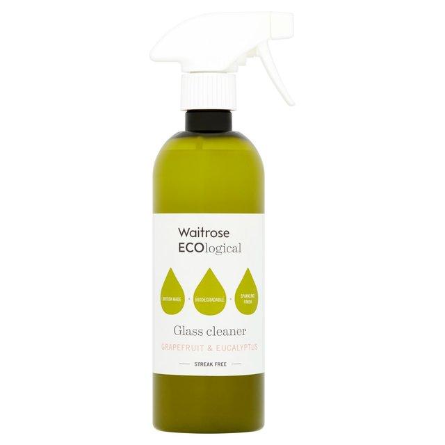Waitrose Ecological Glass Spray Cleaner 500ml From Ocado