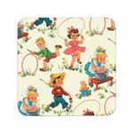REX London Vintage Skipping Design Coaster
