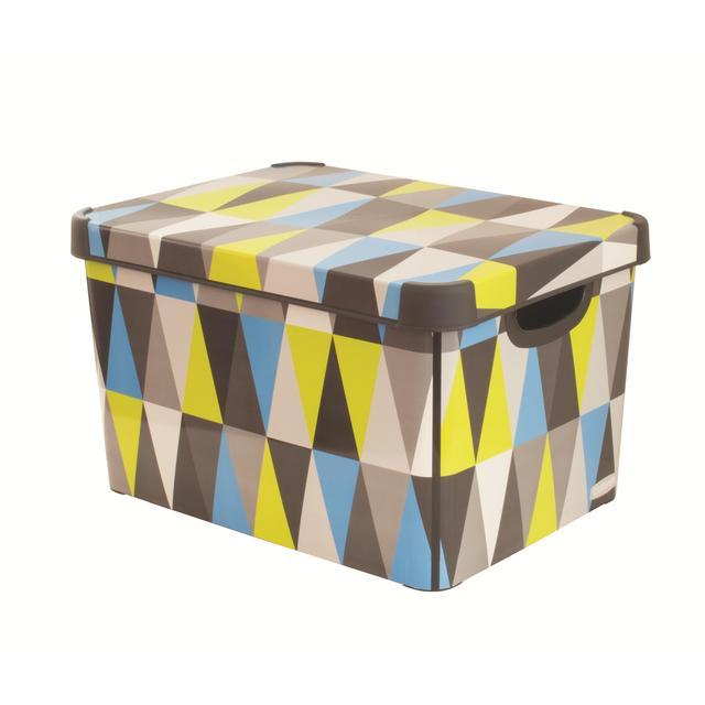 Charmant Storage Box, Geometrics