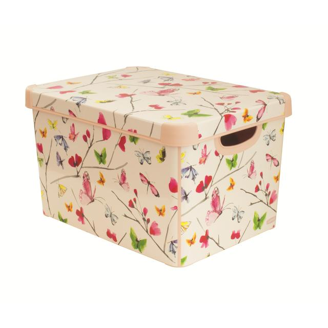 storage box butterfly from ocado. Black Bedroom Furniture Sets. Home Design Ideas