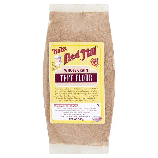 Offer - Bob's Red Mill Gluten Free Teff Flour 500g
