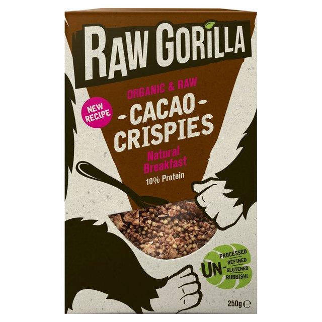 Raw gorilla cacao crispies 250g from ocado raw gorilla cacao crispies forumfinder Gallery