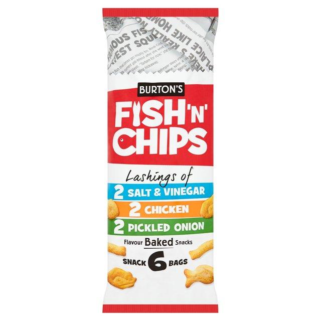 burton 39 s fish chips variety multipack ocado. Black Bedroom Furniture Sets. Home Design Ideas