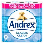 Andrex Classic Clean Toilet Tissue