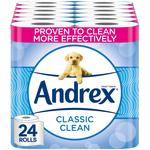 Andrex Classic Clean Toilet Roll