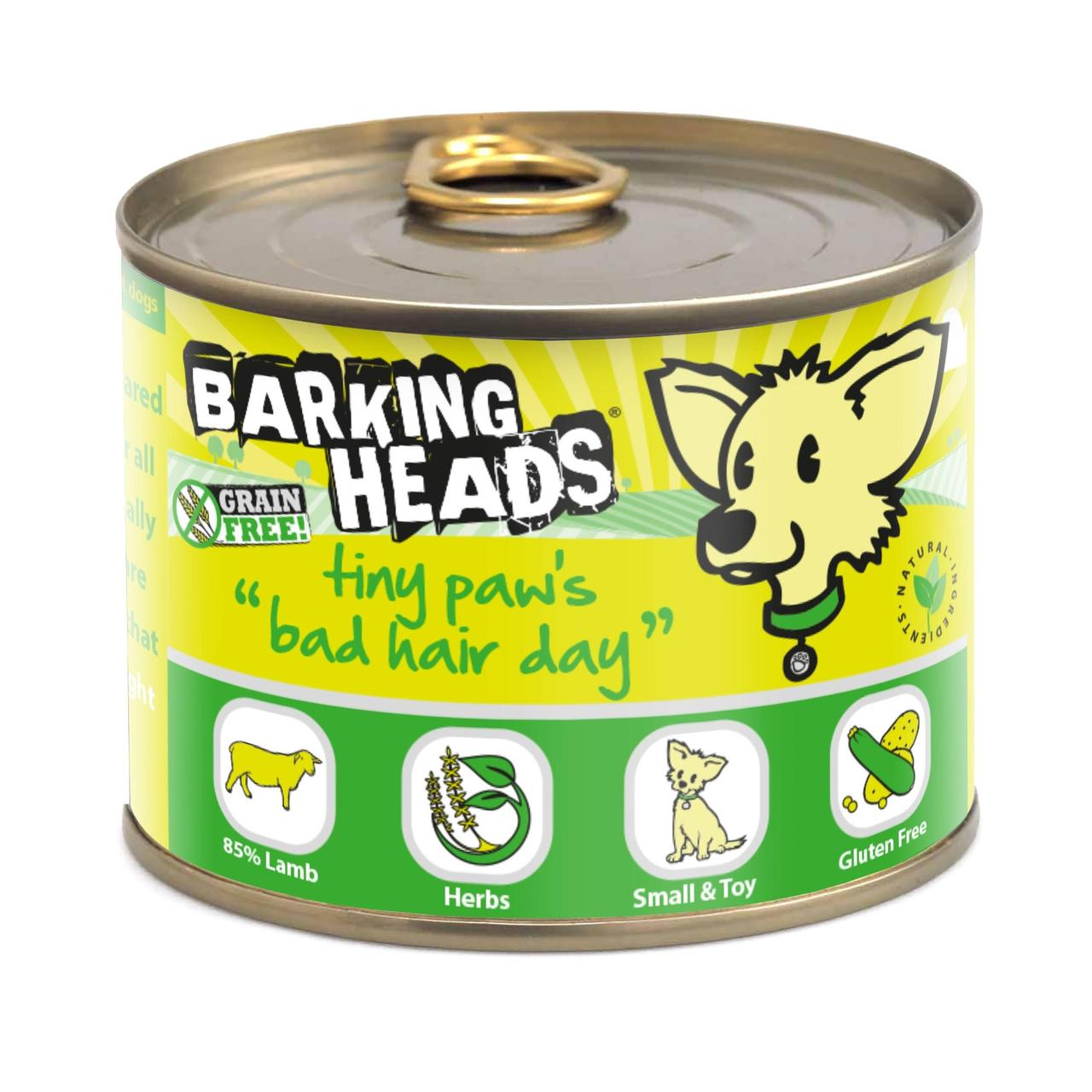 An image of Barking Heads Tiny Paws Bad Hair Day