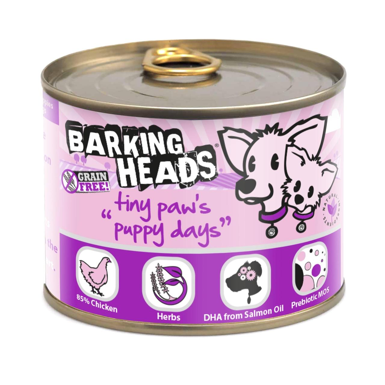 An image of Barking Heads Tiny Paws Puppy Days