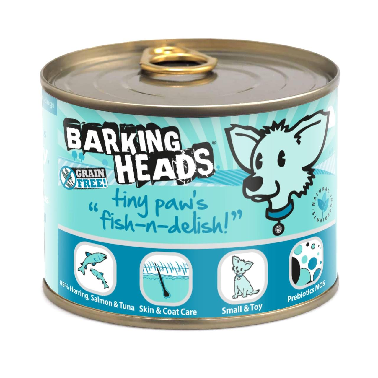 An image of Barking Heads Tiny Paws Fish n Delish