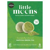 Little Moons Matcha Green Tea Mochi Ice Cream