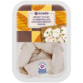 Ocado Ready To Eat Flamegrilled Chicken Breast Pieces