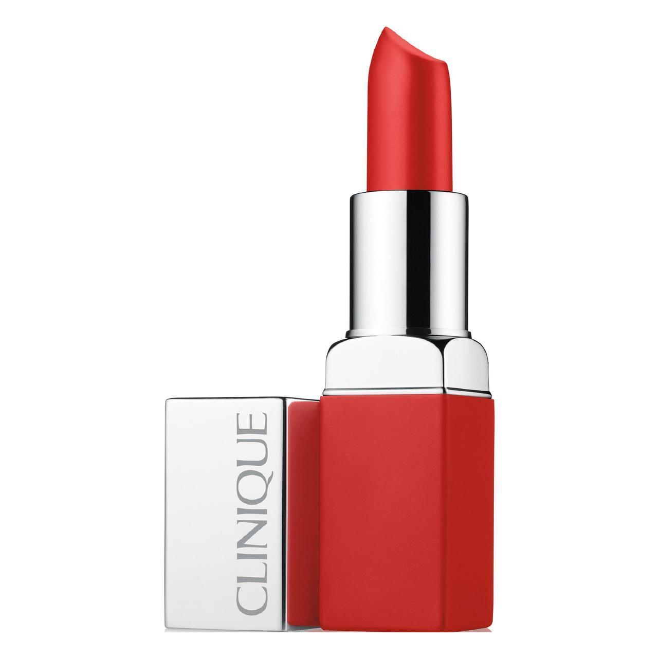 An image of Clinique  Pop Matte Matte Lip Colour + Primer Icon Ruby Pop 3.9g