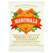Manomasa Serrano Chilli & Yucatan Honey