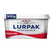 Lurpak Unsalted Spreadable