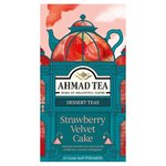 Ahmad Tea Strawberry Velvet Cake Tea Bags